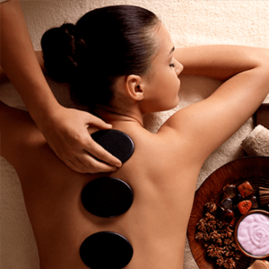 Gentle stone massage